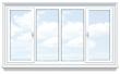 Балконная рама с подоконником и отливами цена в рассрочку